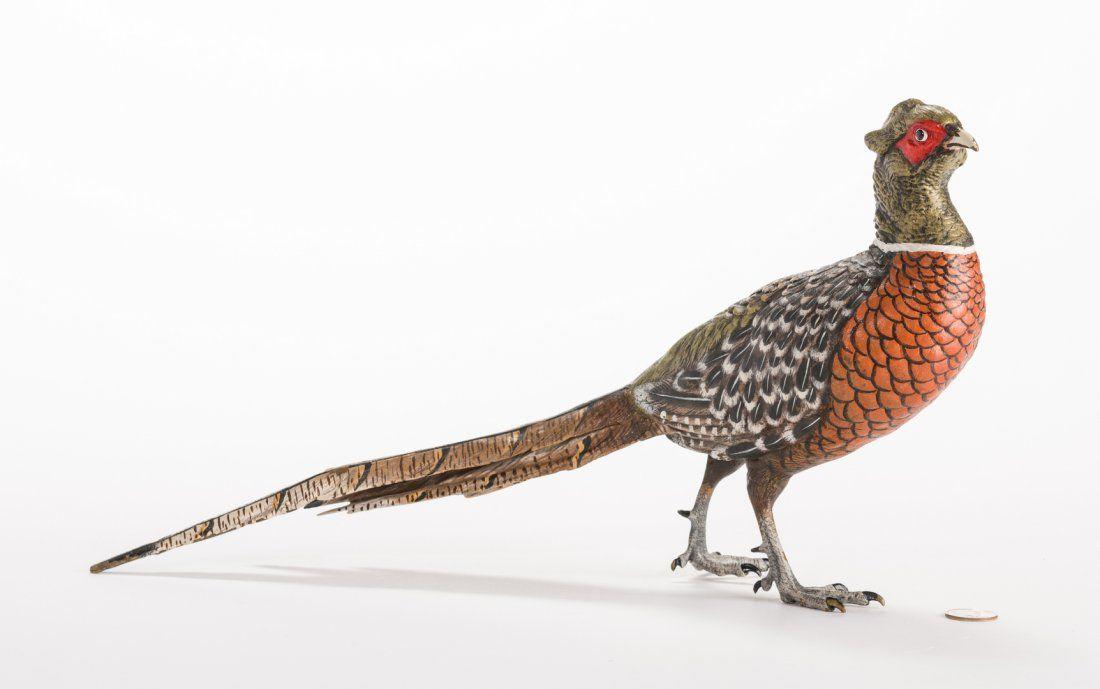 Bronze Pheasant, After Kauba