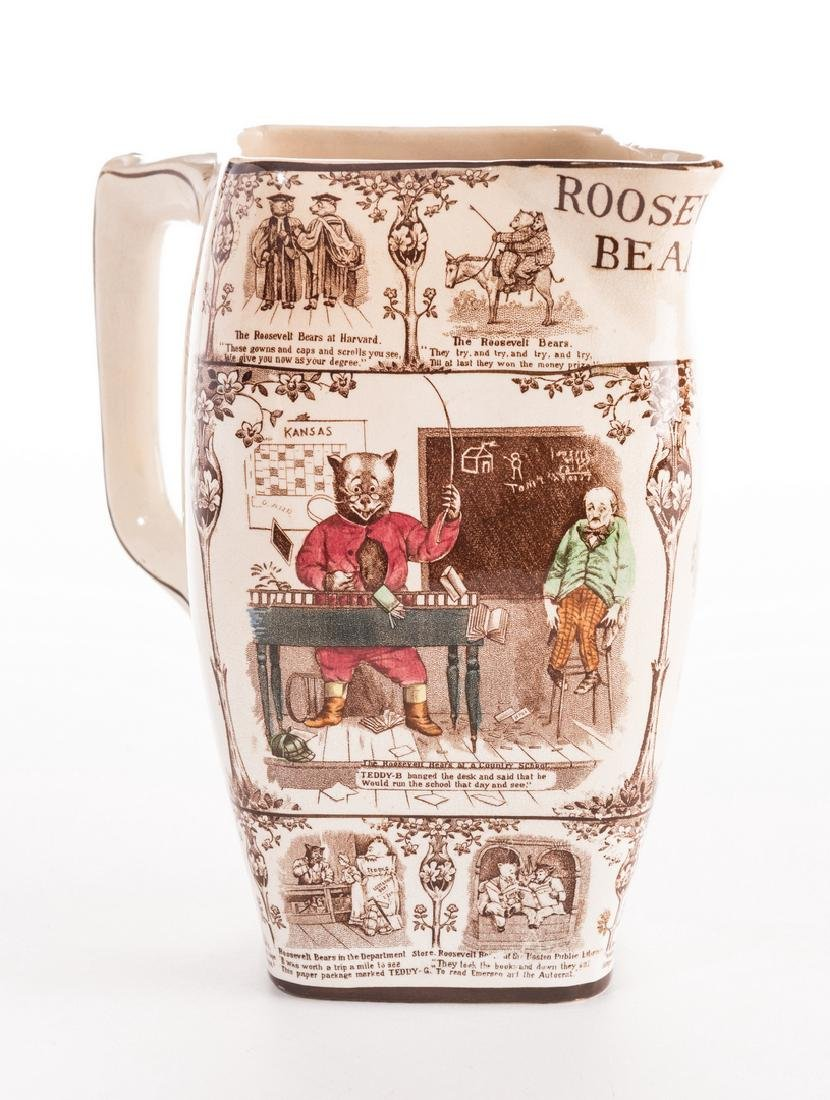 Roosevelt Bears Porcelain Jug or Pitcher