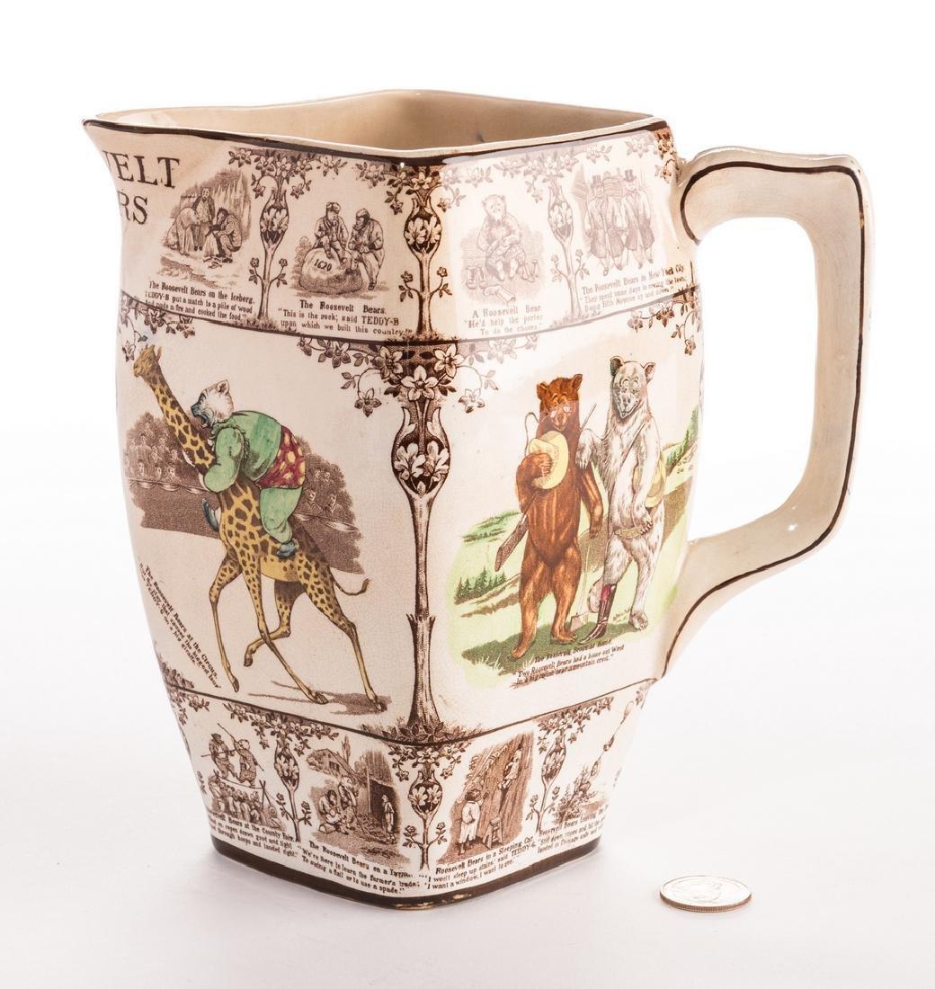 Roosevelt Bears Porcelain Jug or Pitcher - 3