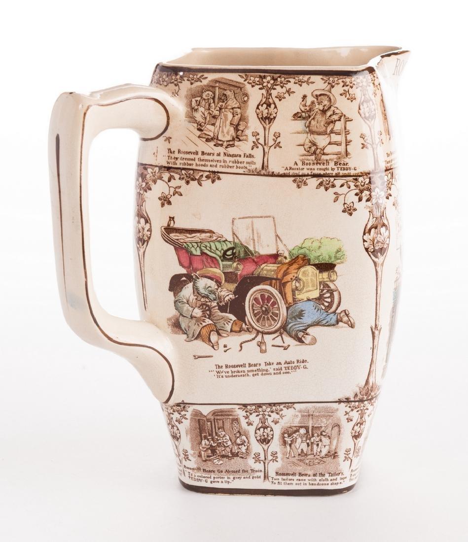 Roosevelt Bears Porcelain Jug or Pitcher - 4