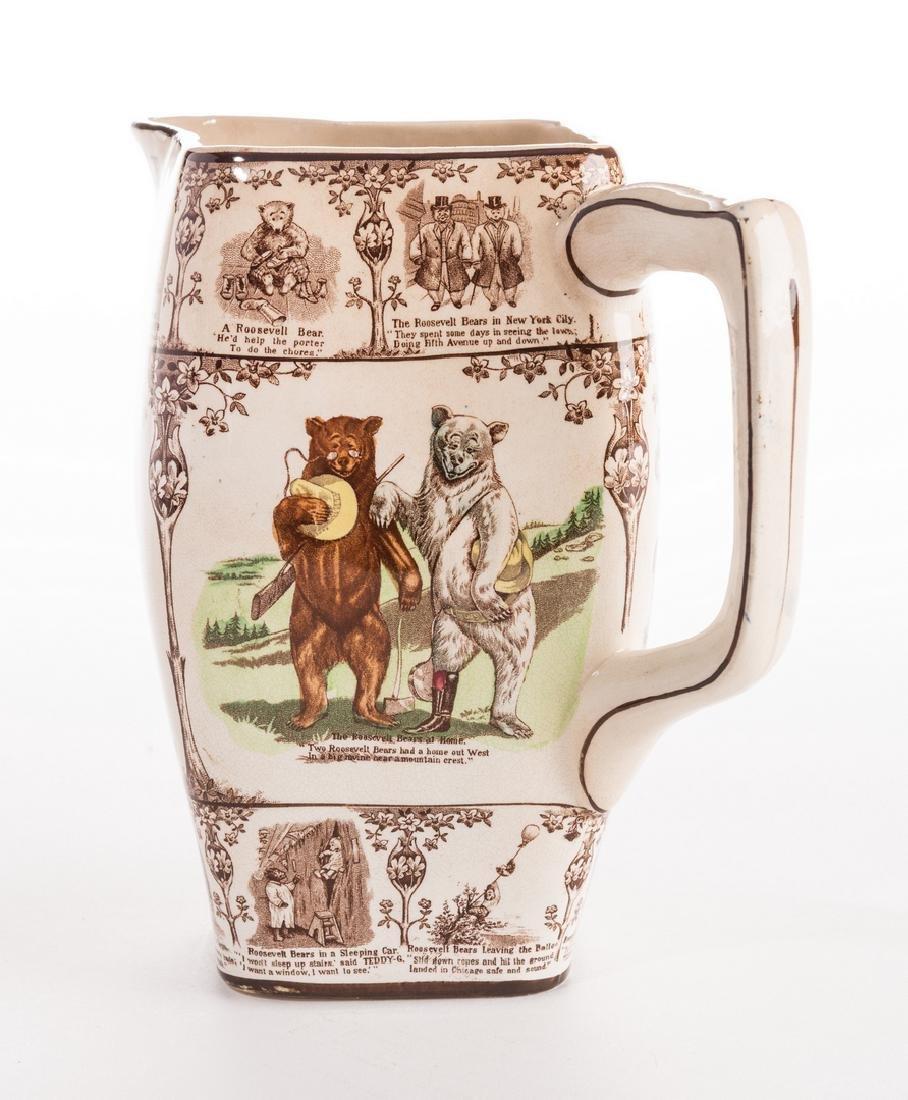 Roosevelt Bears Porcelain Jug or Pitcher - 7