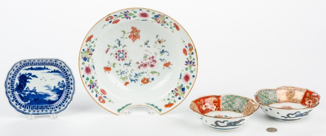 4 pcs Asian Porcelain inc. 18th c. Barber or Bleeder - 2