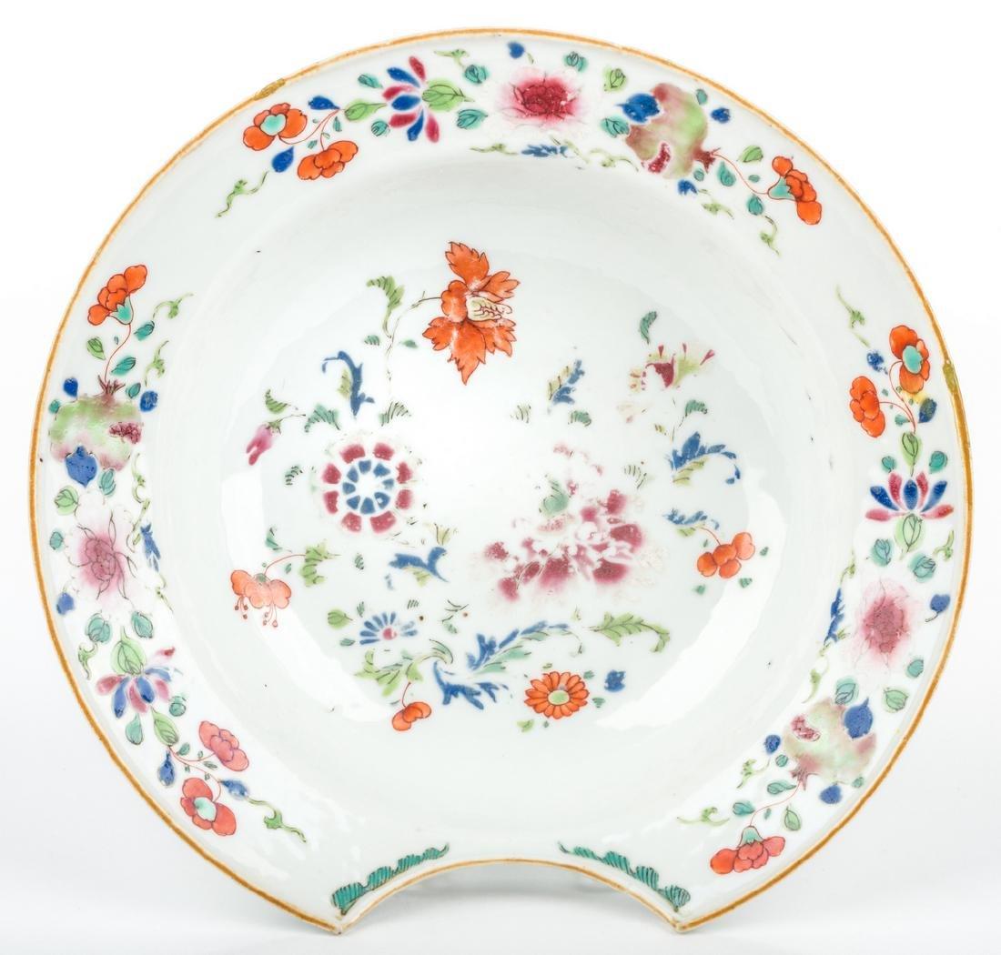 4 pcs Asian Porcelain inc. 18th c. Barber or Bleeder - 5