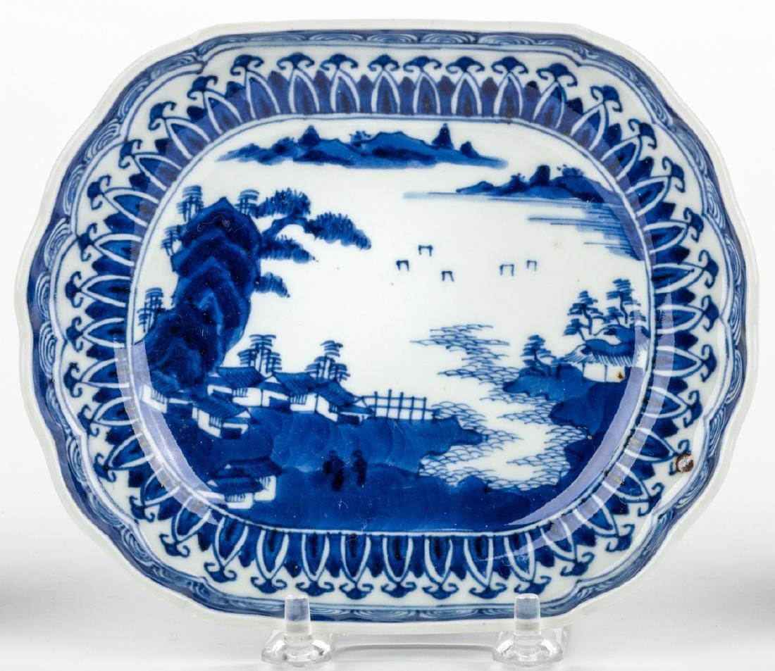 4 pcs Asian Porcelain inc. 18th c. Barber or Bleeder - 6