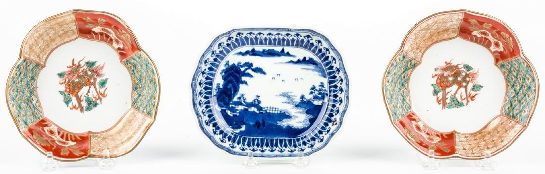 4 pcs Asian Porcelain inc. 18th c. Barber or Bleeder - 8