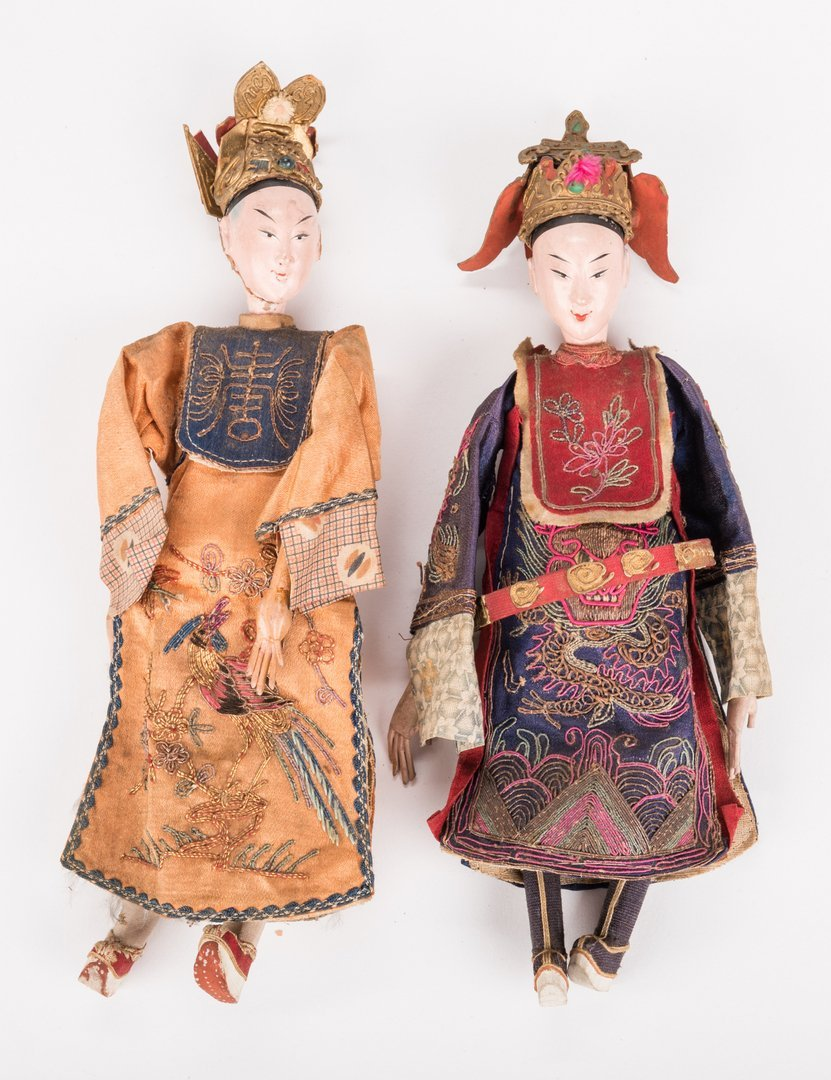 16 Vintage Chinese Dolls, Accessories & Carvings, 17 - 4