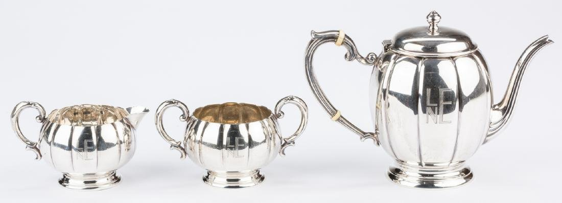 Watson Co. Sterling Tea Set, 3 pcs