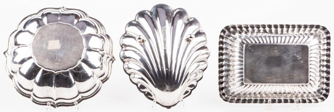 3 Sterling Silver Serving Items - 5