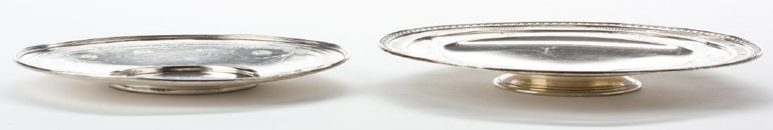 2 Sterling Serving Platters, inc. Tiffany - 5