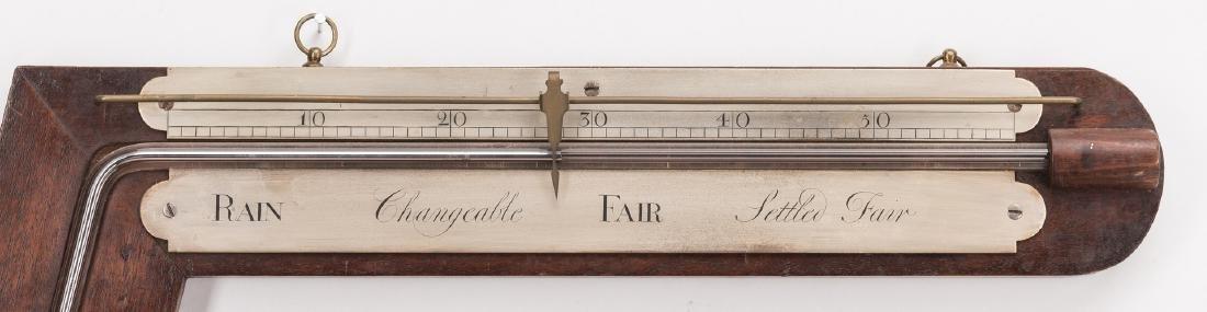 English Angle or Sign Post Barometer - 2