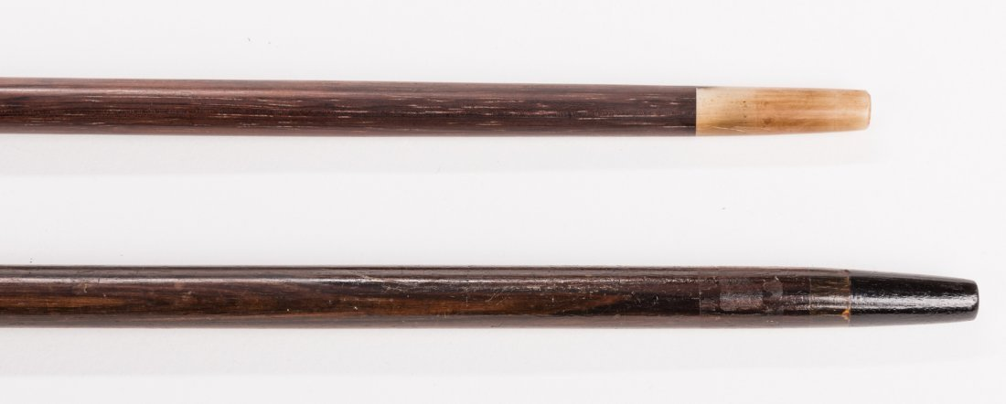 2 Asian and American Silver Walking Sticks - 9