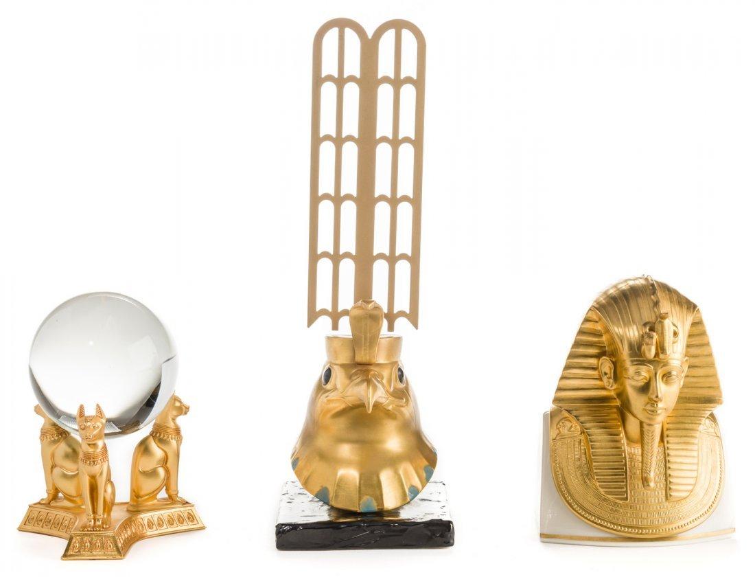 3 King Tut - Egyptian Style Pieces