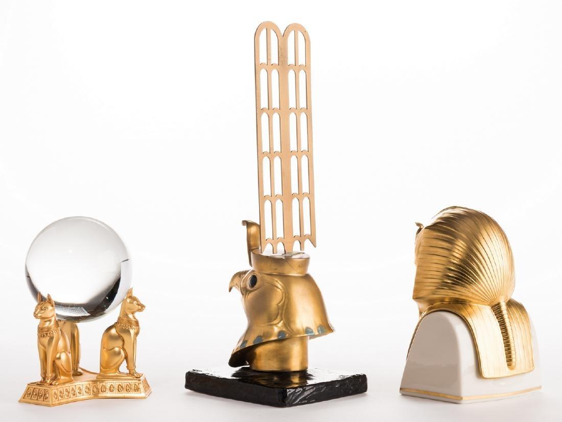 3 King Tut - Egyptian Style Pieces - 4