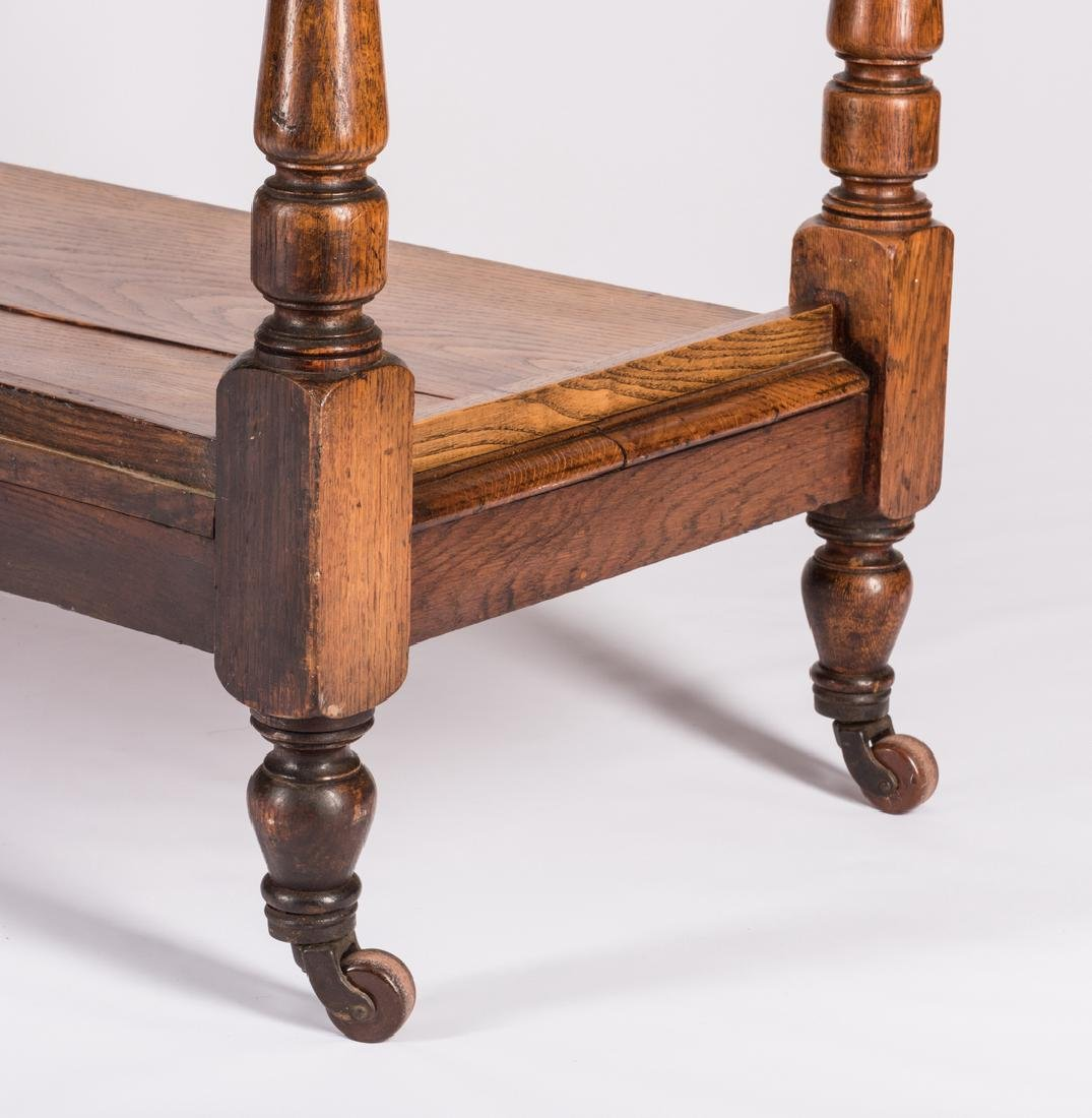 English Oak 3-Tiered Etagere, 19th c. - 6
