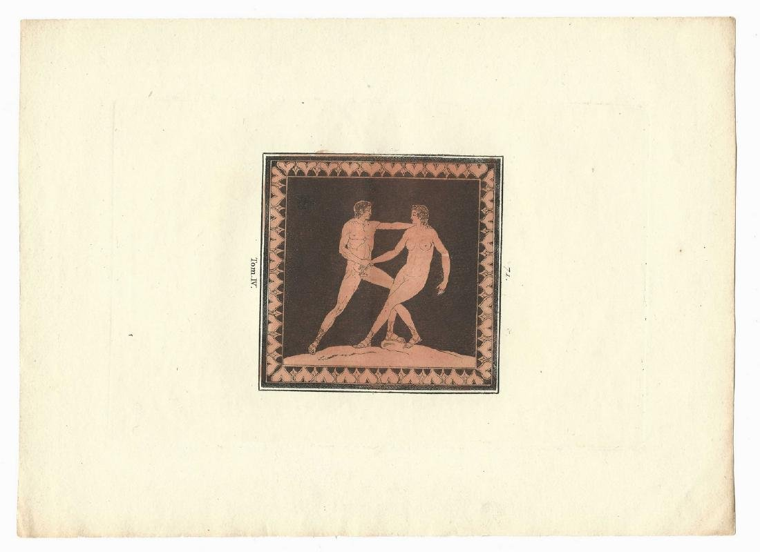 5 Sir William Hamilton Classical Engravings - 2
