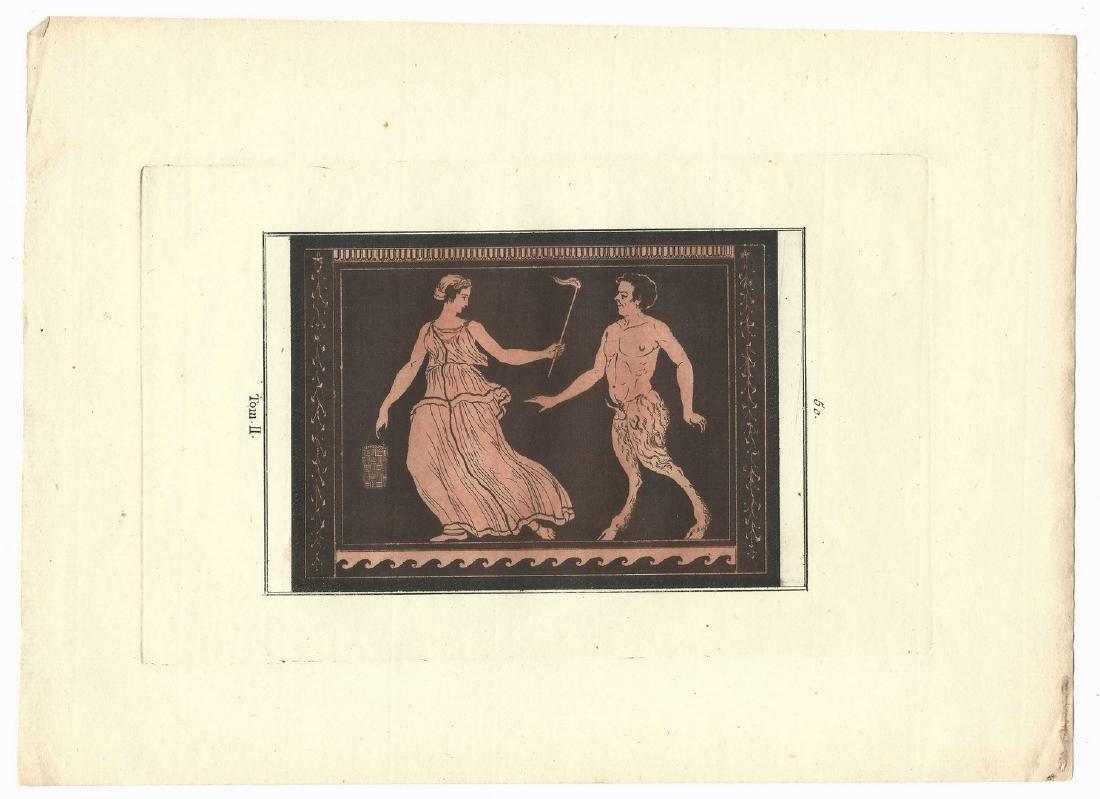 5 Sir William Hamilton Classical Engravings - 3