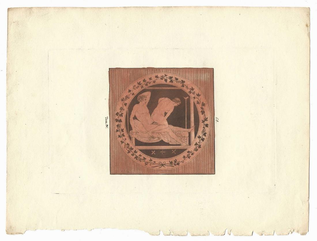 5 Sir William Hamilton Classical Engravings - 4