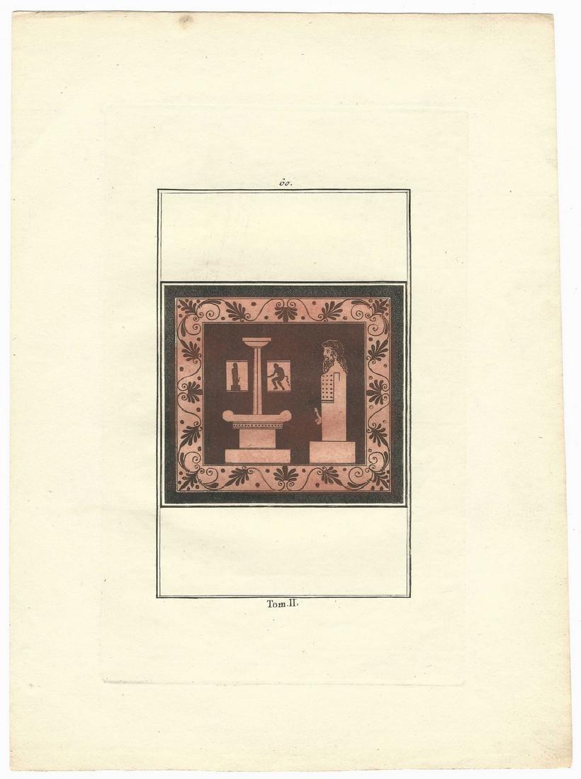 5 Sir William Hamilton Classical Engravings - 5