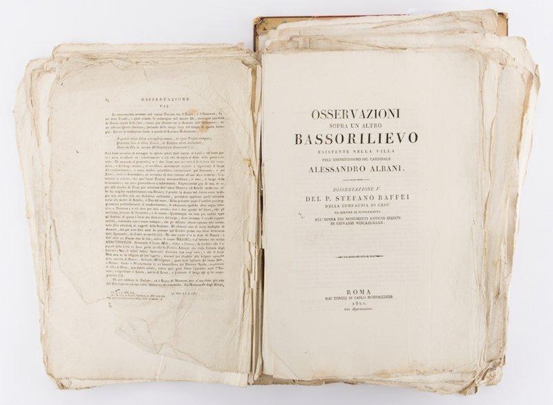 Early Italian Engravings, Winckelmann - 10