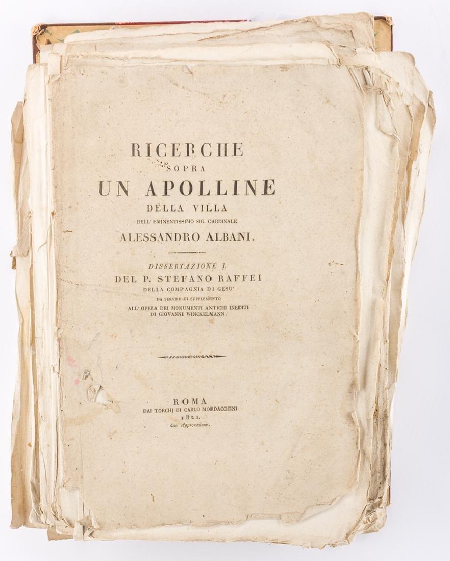 Early Italian Engravings, Winckelmann