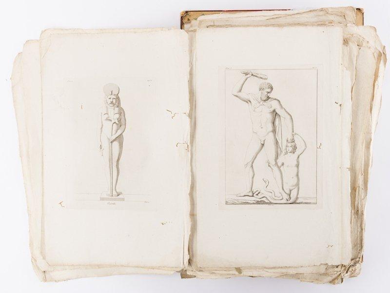 Early Italian Engravings, Winckelmann - 3
