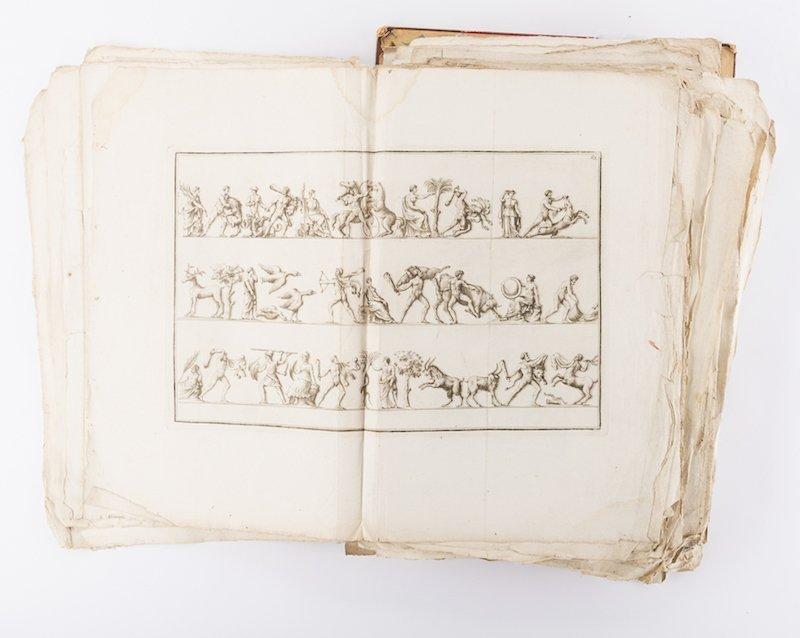 Early Italian Engravings, Winckelmann - 4