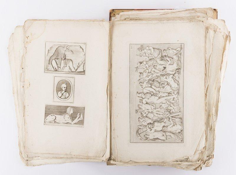 Early Italian Engravings, Winckelmann - 5