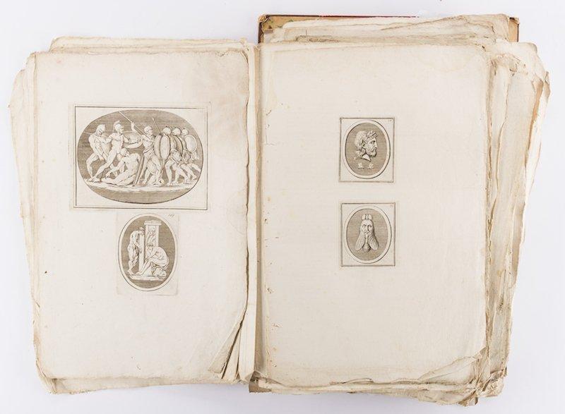 Early Italian Engravings, Winckelmann - 6