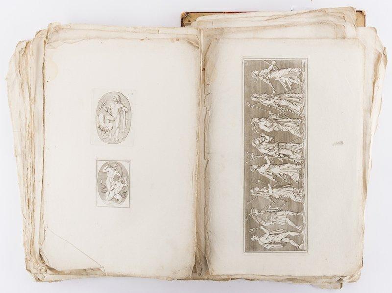 Early Italian Engravings, Winckelmann - 7
