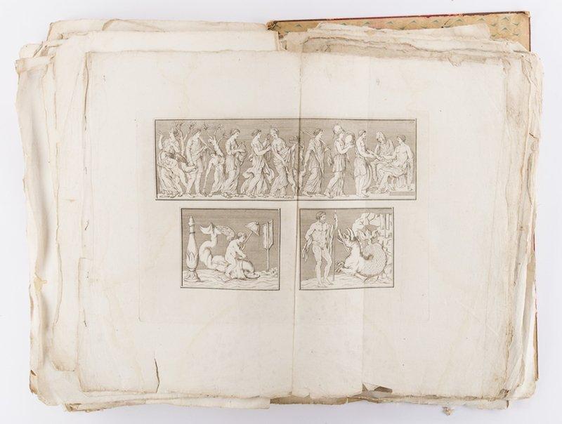 Early Italian Engravings, Winckelmann - 8