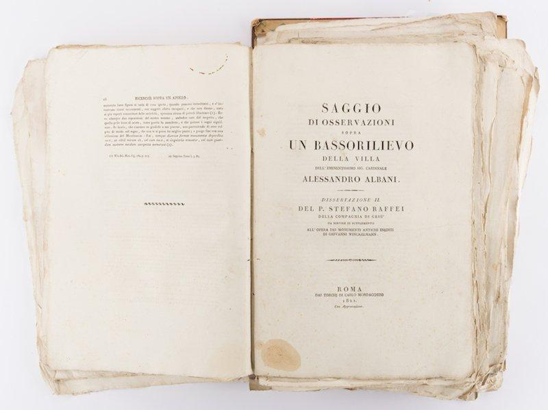Early Italian Engravings, Winckelmann - 9