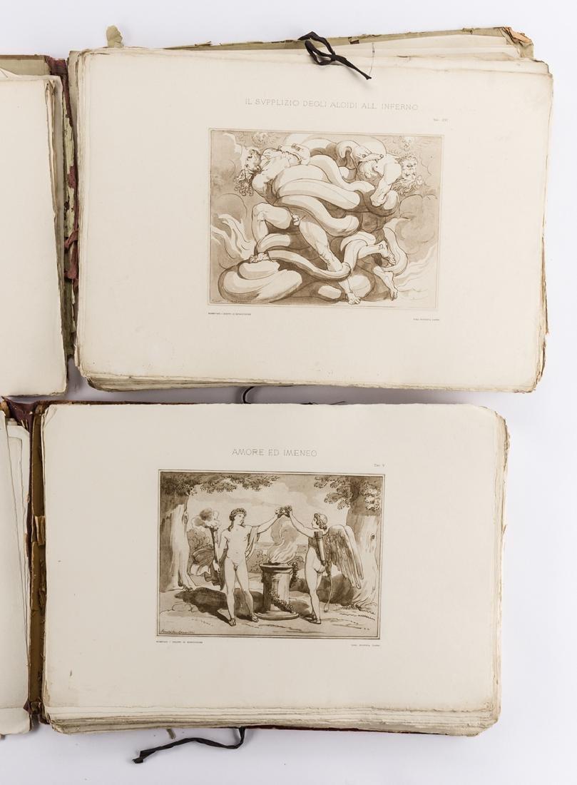 2 vols. Pinelli lithographs, 1896 - 2