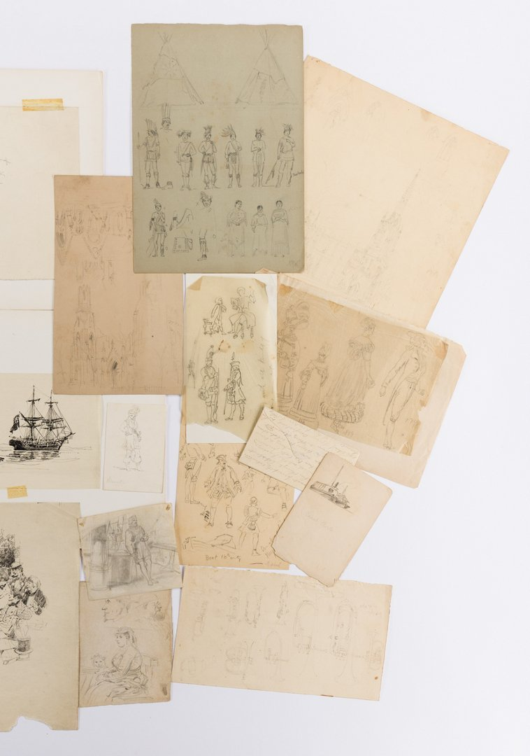Archive of Alfred Waud Sketches and Notes, 50 plus - 4