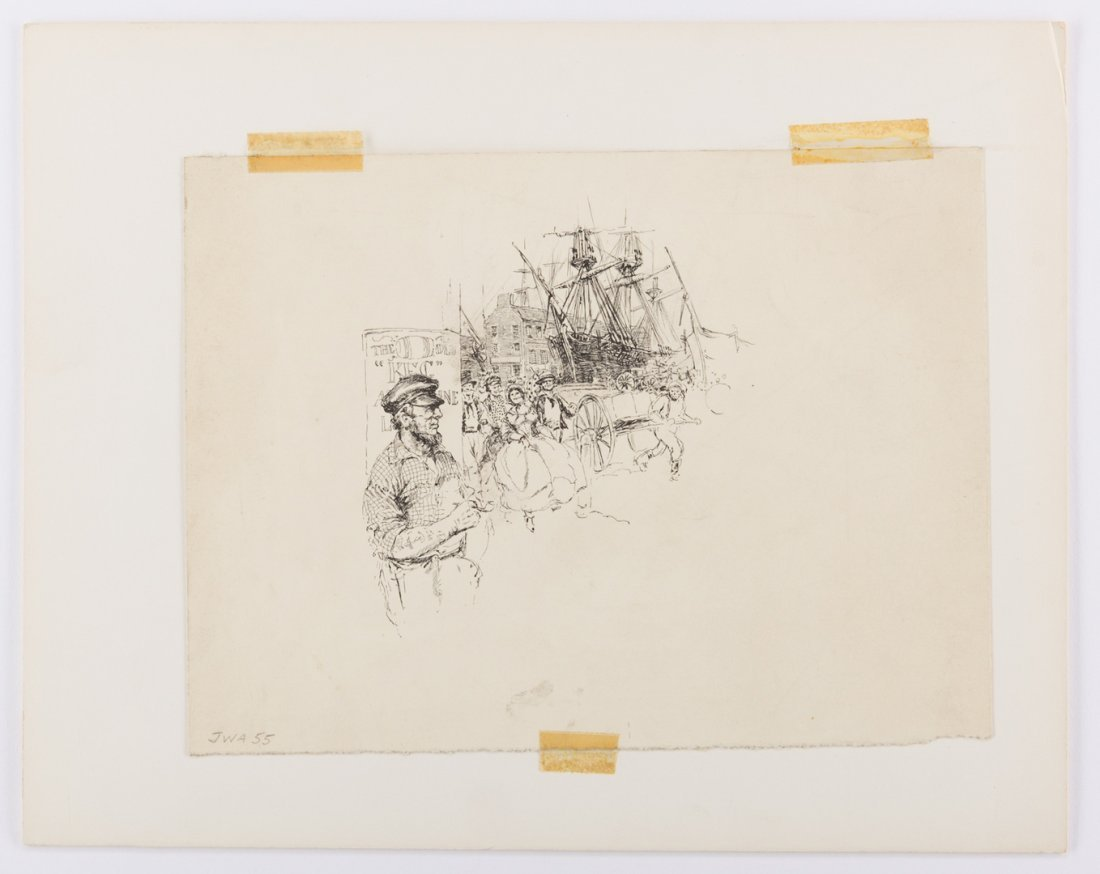 Archive of Alfred Waud Sketches and Notes, 50 plus - 7