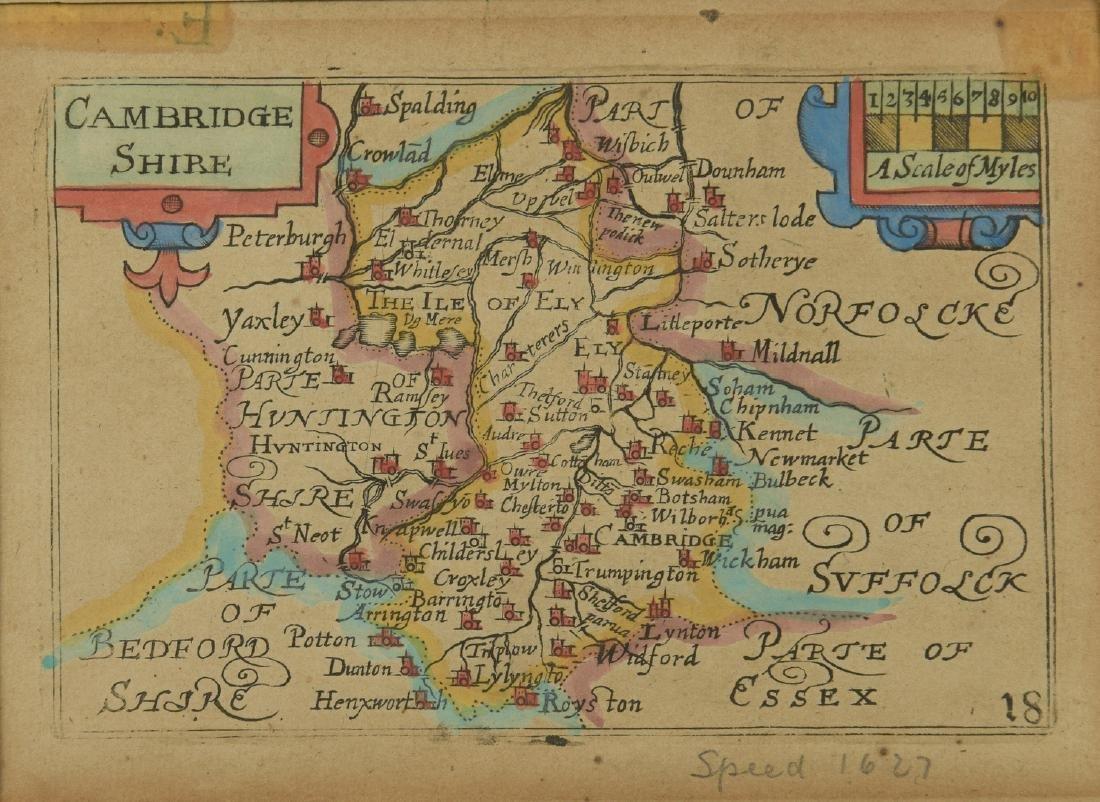 4 English Maps & Engravings - 3