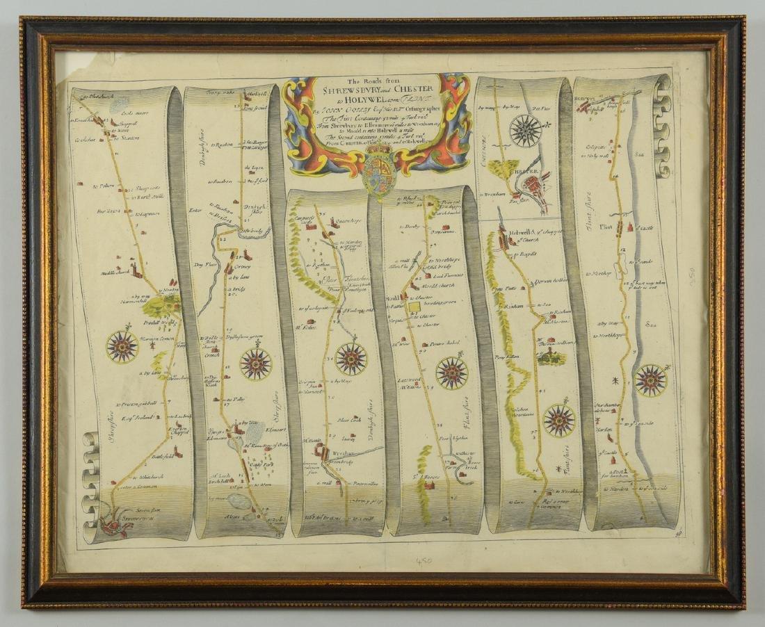 4 English Maps & Engravings - 6