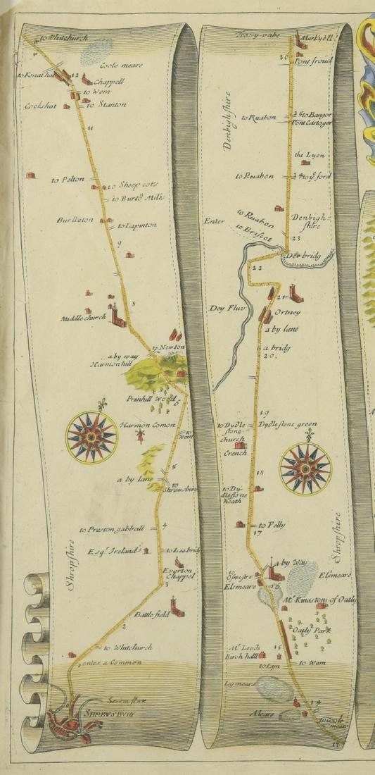 4 English Maps & Engravings - 7