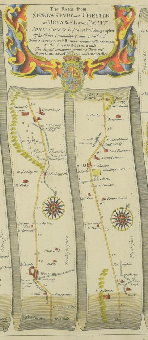 4 English Maps & Engravings - 8