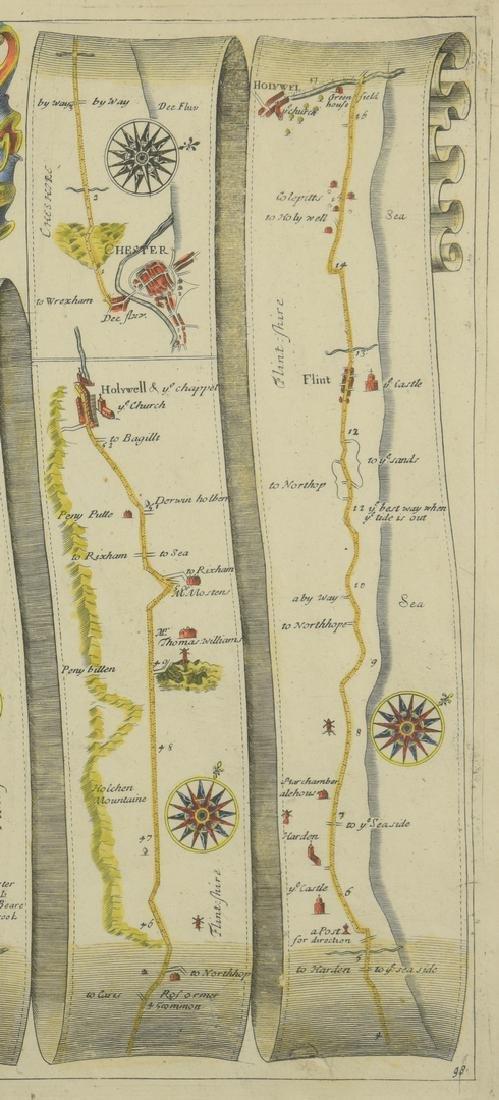 4 English Maps & Engravings - 9