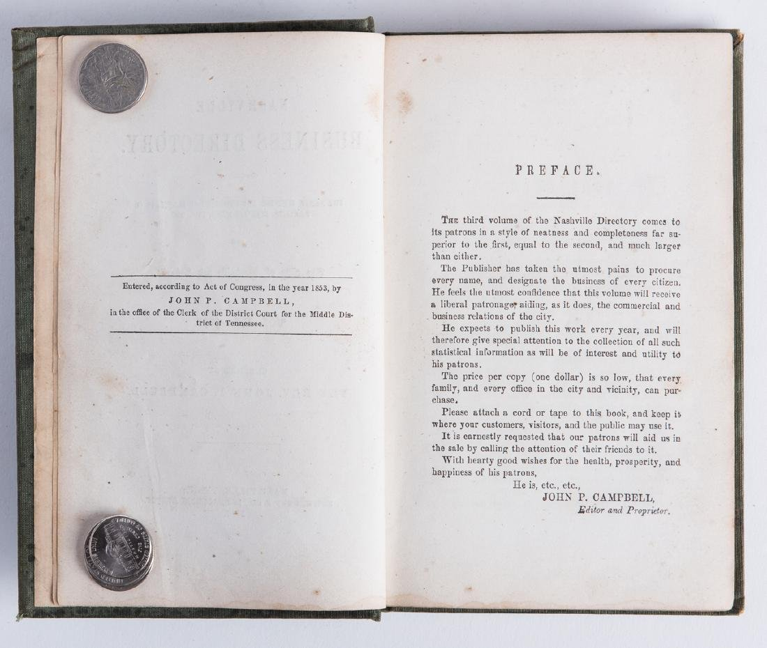 Nashville 1857 Business Directory - 4