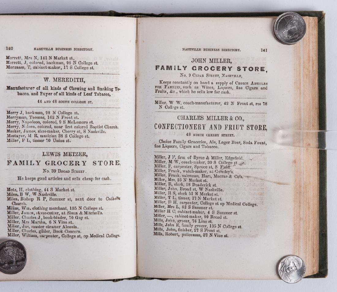 Nashville 1857 Business Directory - 5