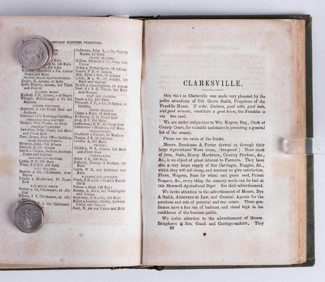 Nashville 1857 Business Directory - 6