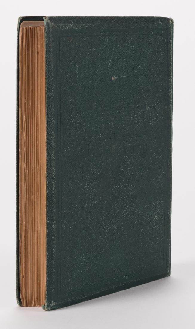 1876 Book, 42nd Ohio Infantry & Lucretia Garfield Card, - 4