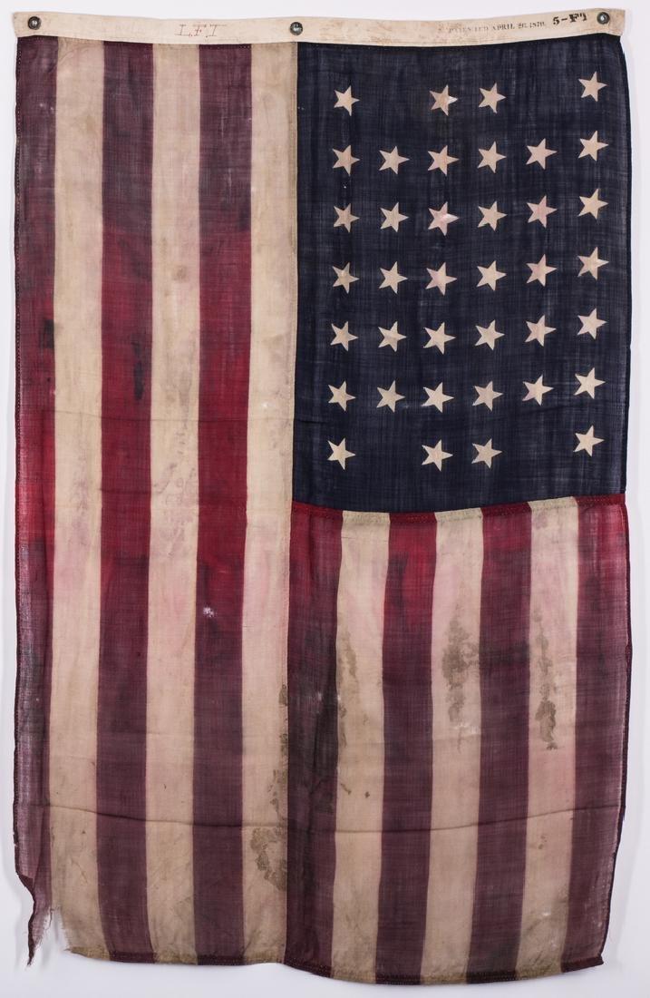 2 American Flags, 38 Star & 46 Star - 2