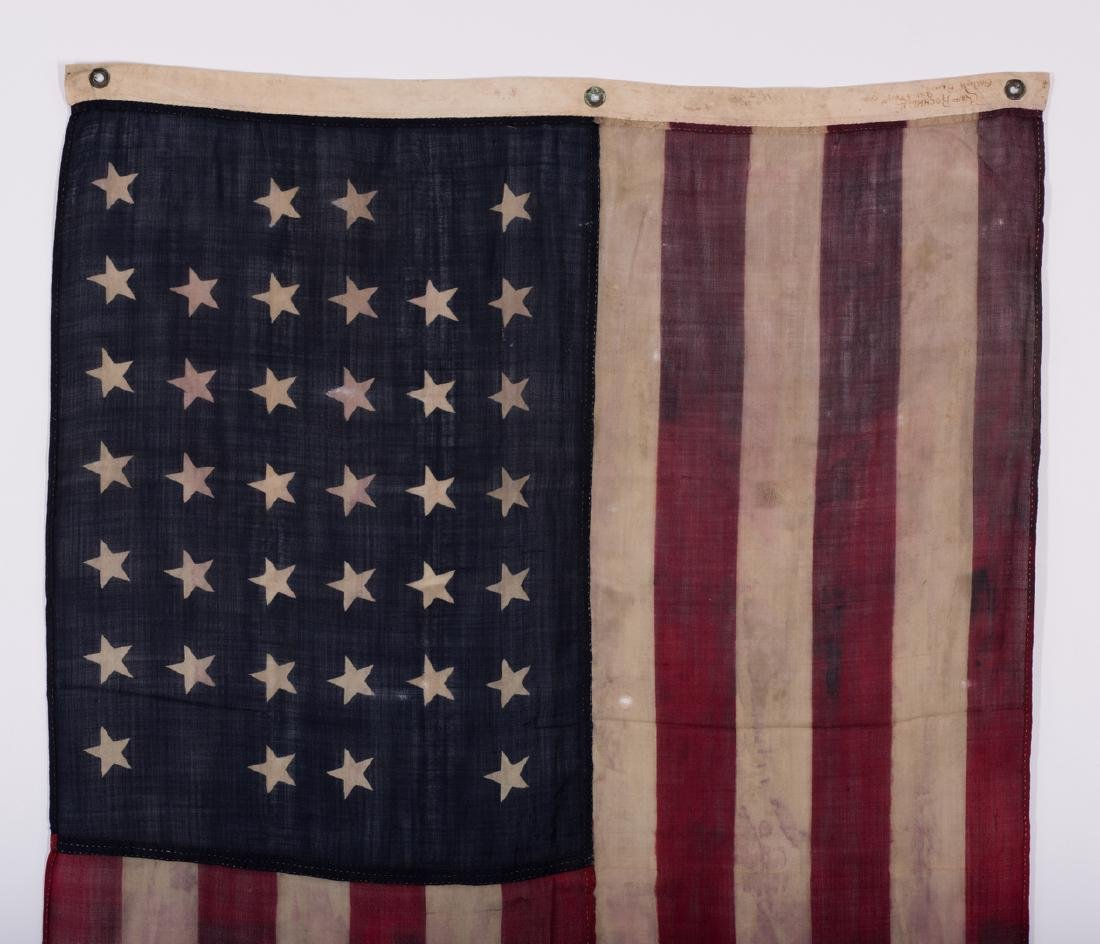 2 American Flags, 38 Star & 46 Star - 9