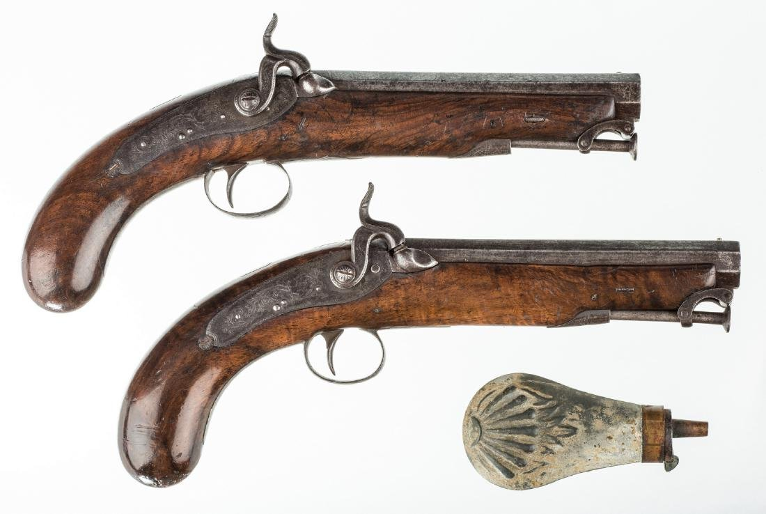 Pr 19th c. English/Scottish Belt Pistols
