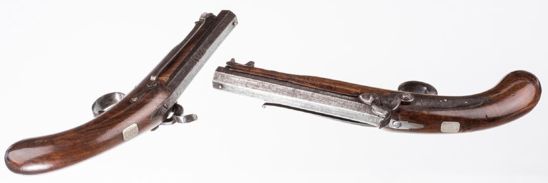 Pr 19th c. English/Scottish Belt Pistols - 5