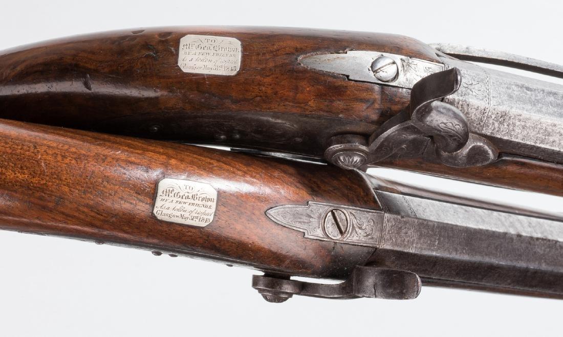 Pr 19th c. English/Scottish Belt Pistols - 6