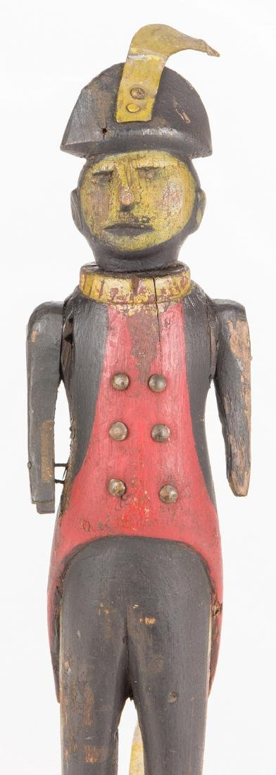 Folk Art Soldier Whirligig - 3
