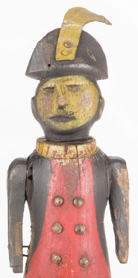 Folk Art Soldier Whirligig - 4